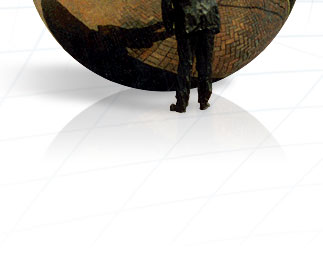 Polished Stainless Steel Ball image