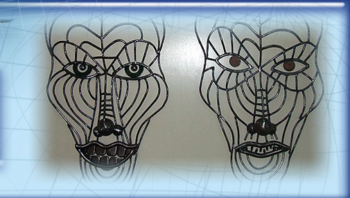 Wireframe Wall Masks image