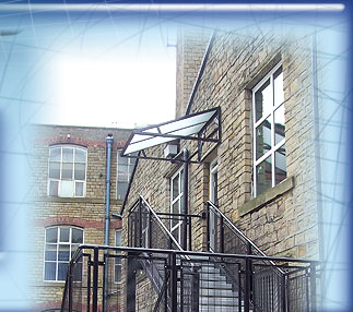 External Steel Entrance Stairway image
